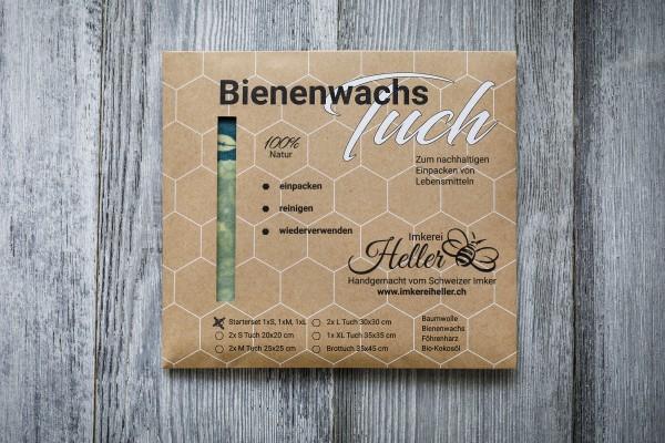 Bienenwachstücher (Budget) 3er Set